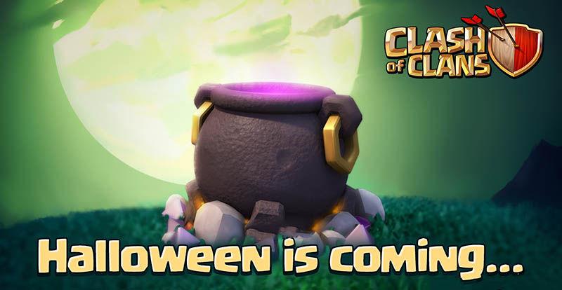 Actualización Halloween COC