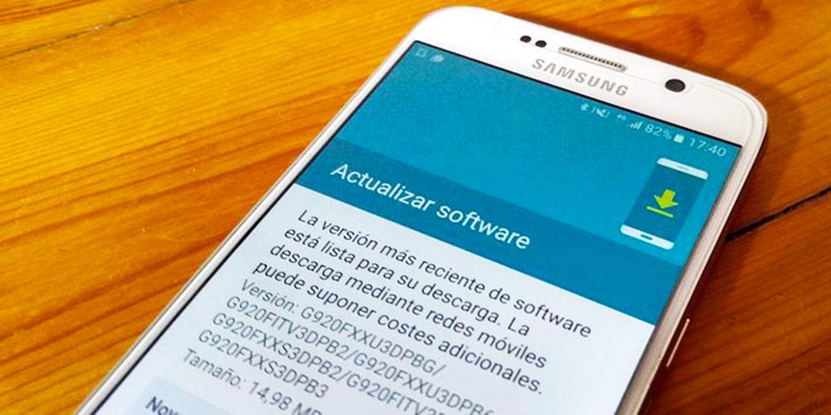 Actualización Software Android