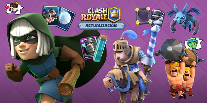 Actualizacion Clash Royale de junio 2018