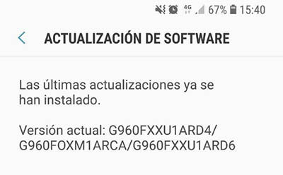 Actualización Galaxy S9 soluciona problema llamadas