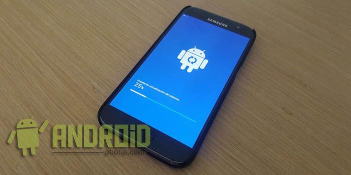 Actualizacion Marzo Galaxy S7