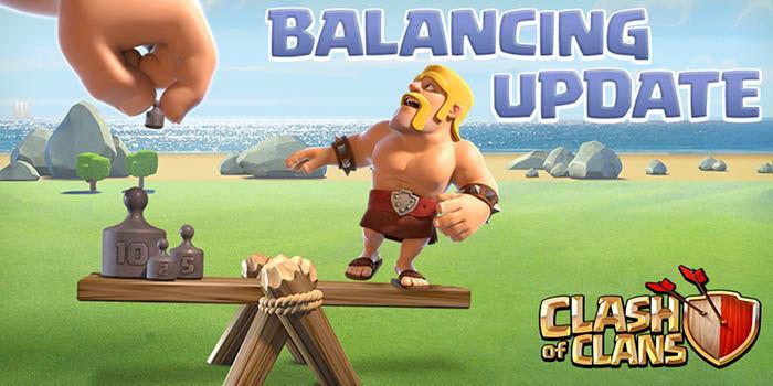 Actualizacion balance clash of clans