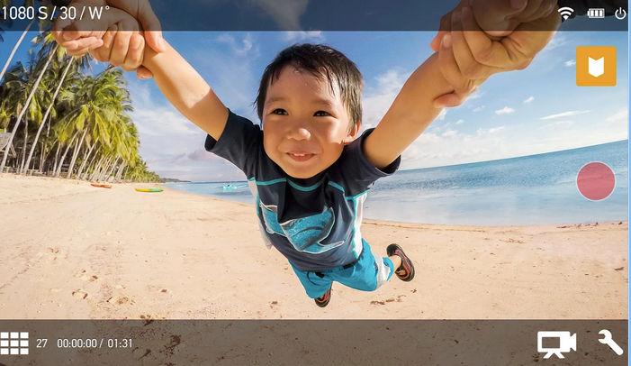 Actualizan la app de GoPro con edición de clips