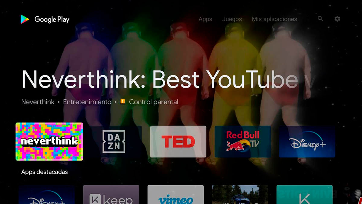 Actualizar Google Play Android TV