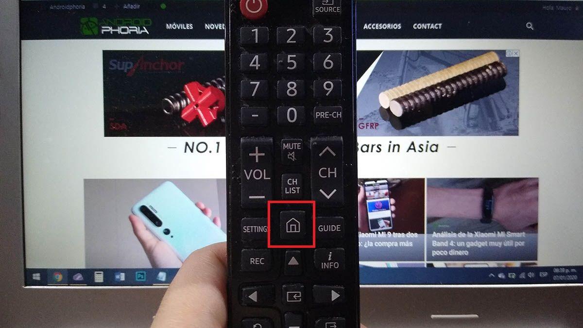 Actualizar Smart TV Samsung tutorial