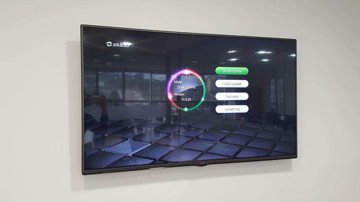 Actualizar Zidoo X6 Pro