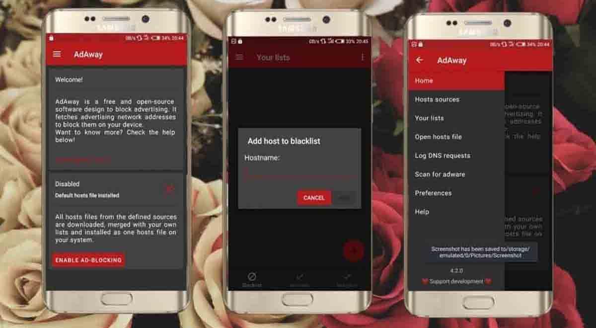 AdAway app código libre Android
