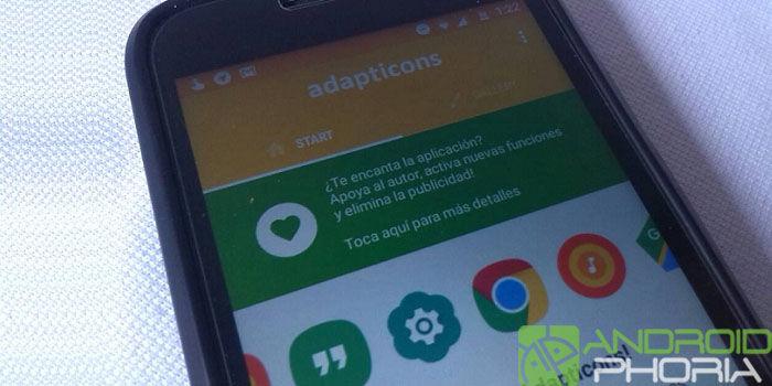 Adapticons app personalizar iconos