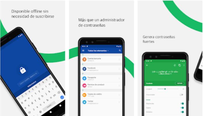 Administradores de contraseñas para tu movil Android