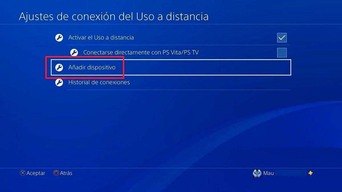 Agregar dispositivos PS5
