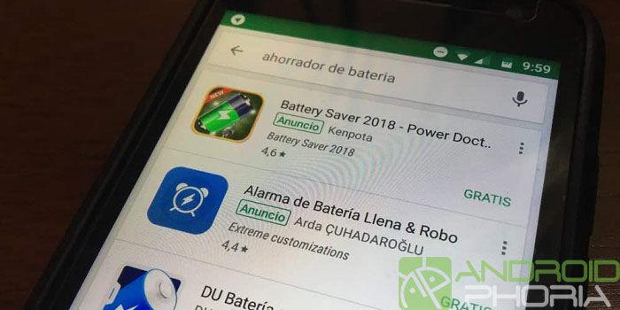 Ahorrador de batería para Android