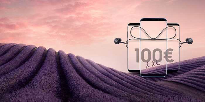 Ahorrar 100 euros Galaxy S8 Espana