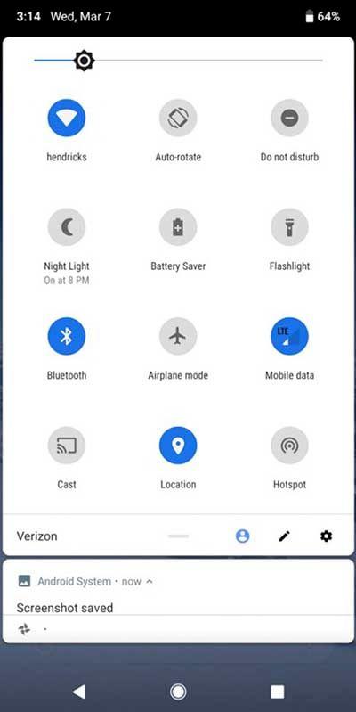 Ajustes Android P