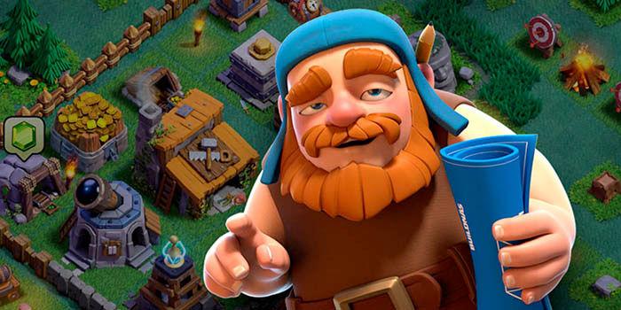 Base del constructor Clash of Clans