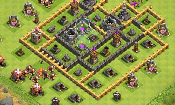 Aldea en Clash of Clans