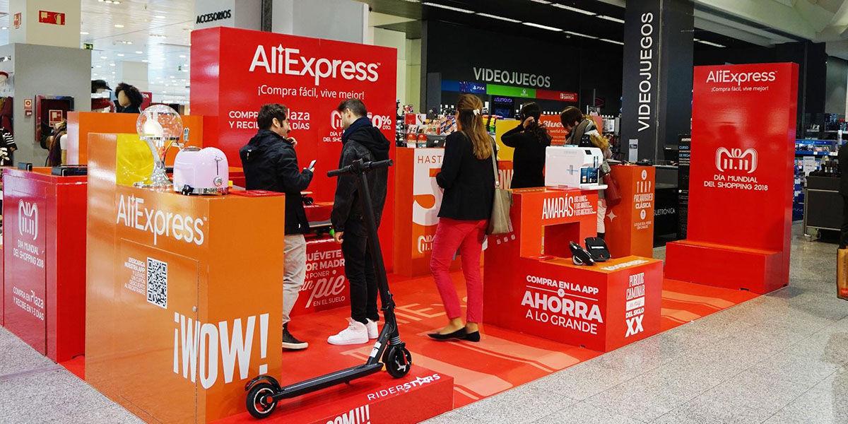 AliExpress abrira su primera tienda fisica en Espana