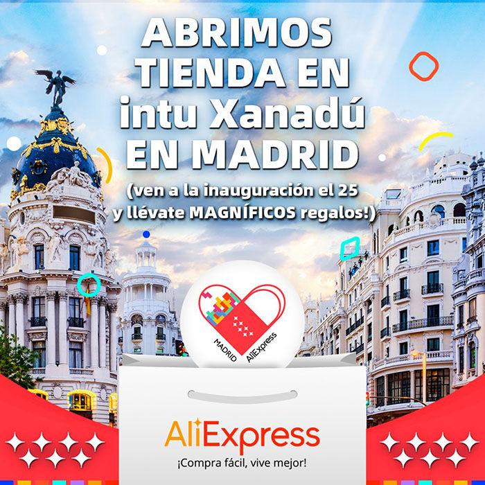 AliExpress tienda fisica espana