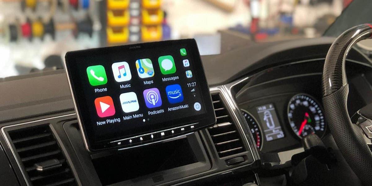 Alpine iLX-F903D radio con android auto y apple carplay