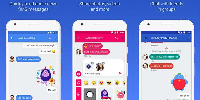 Alternativa de Google a WhatsApp