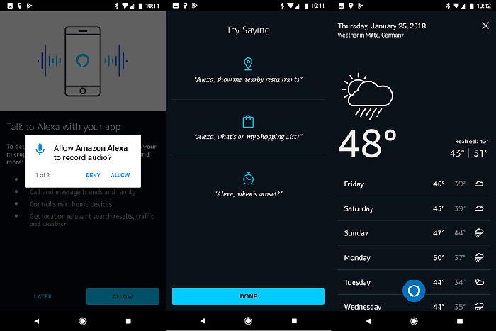 Amazon Alexa para Android
