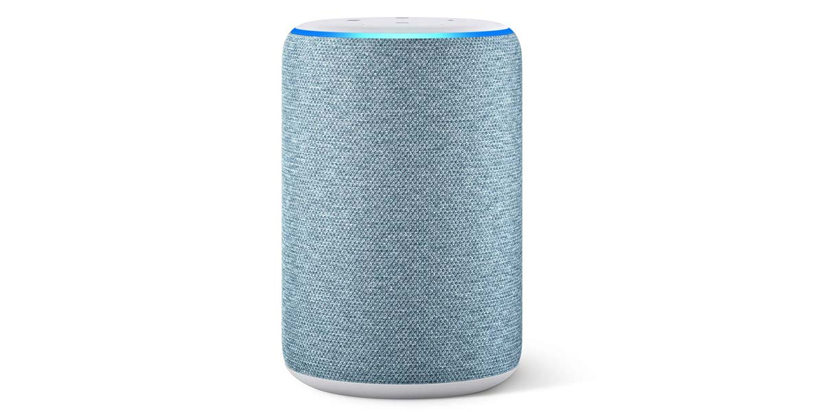 Amazon Echo de color blanco
