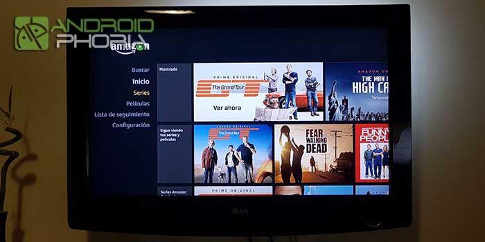 Amazon Prime Video en Xiaomi Mi Box