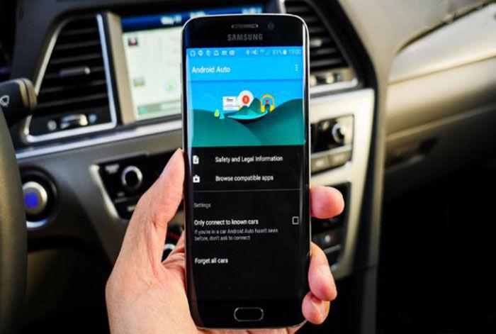 Amdroid Auto Samsung