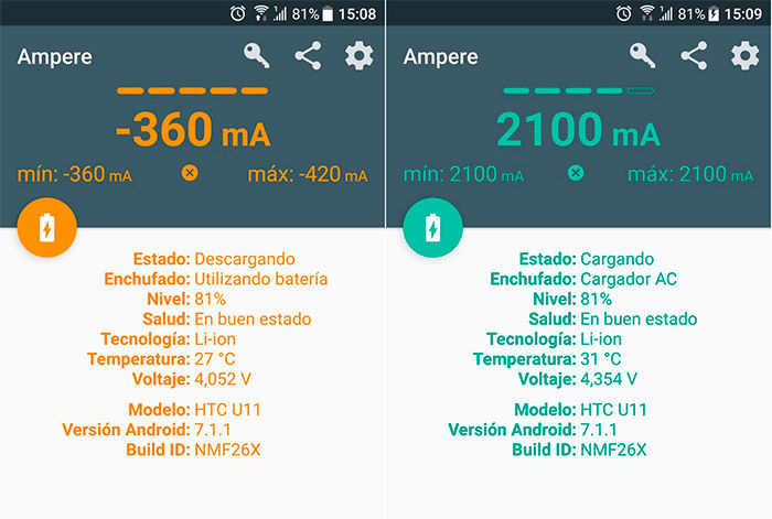 Ampere para Android