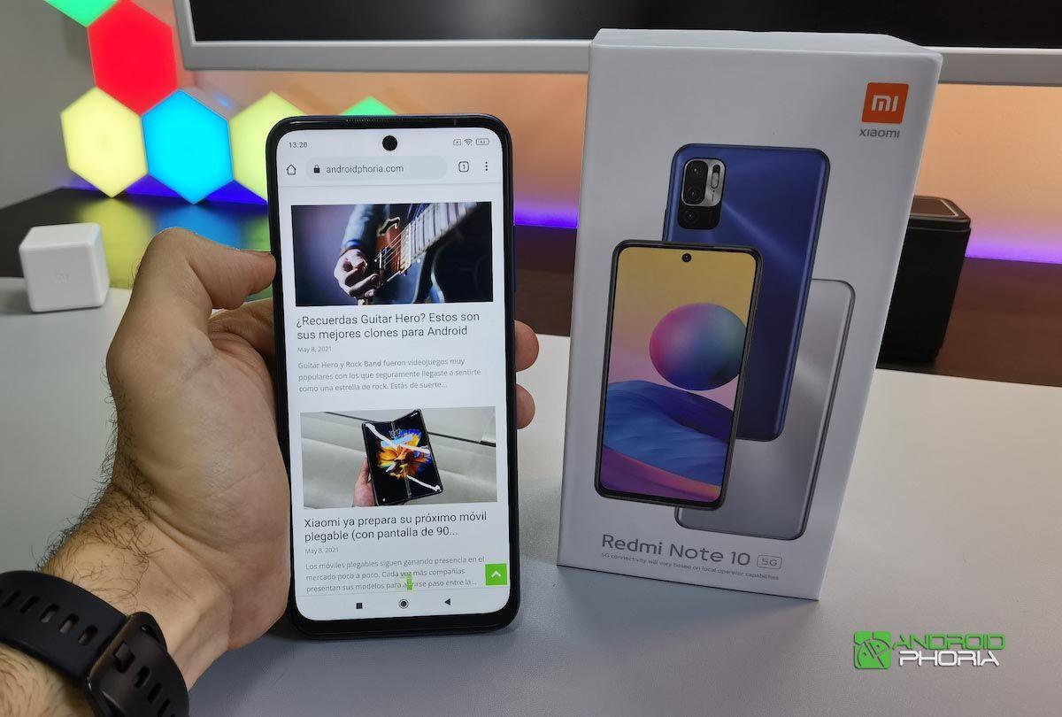 Análisis Redmi Note 10 5G