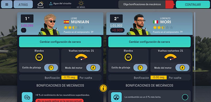 Analizamos Motorsport Manager Mobile 3