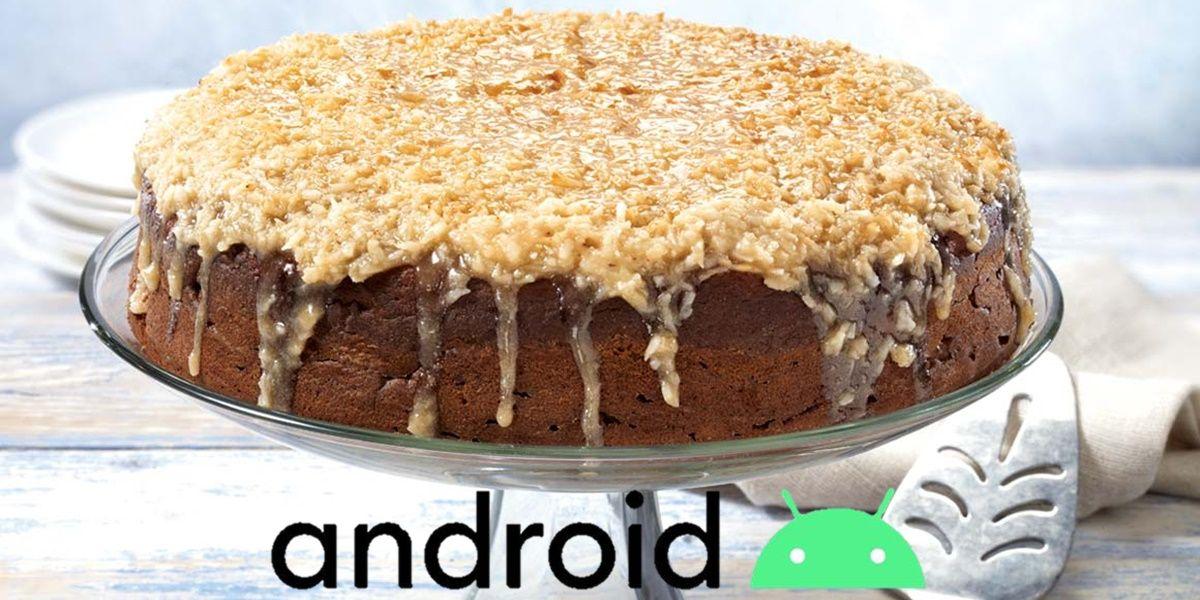 Android 10 nombre de postre