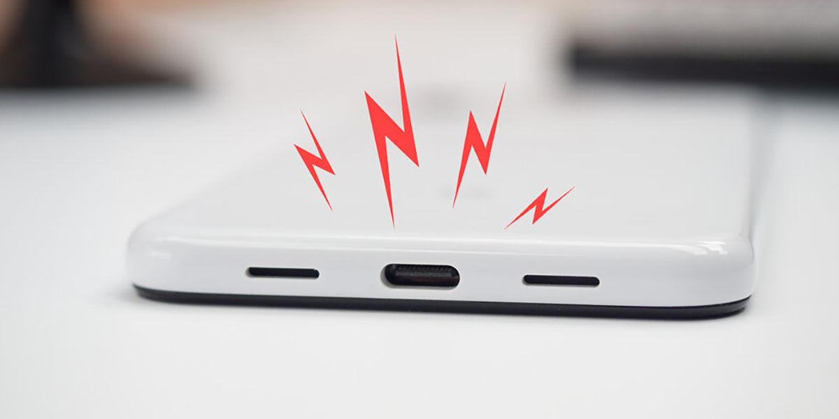 Android 10 te avisa si el puerto usb esta sucio o caliente