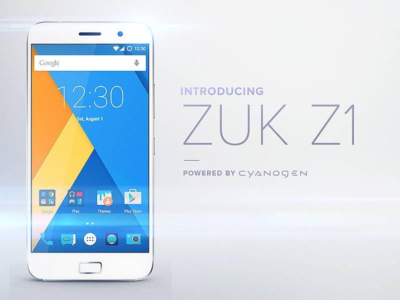 Android 6.0 Marshmallow para ZUK Z1 en febrero de 2016