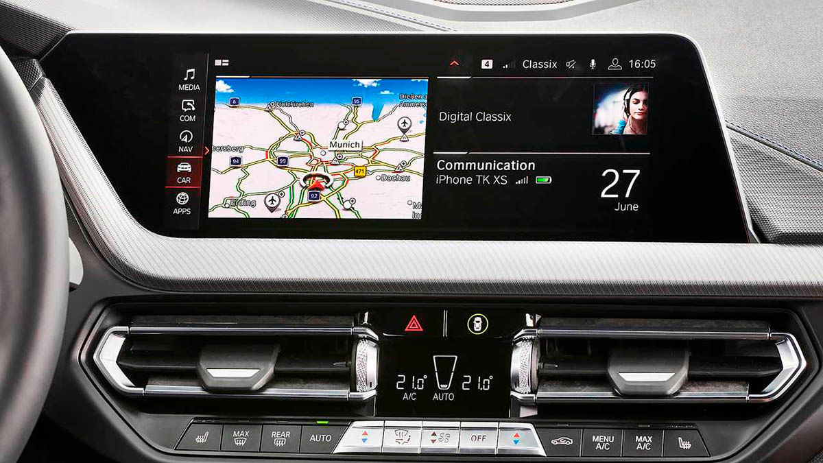 Android Auto inalambrico BMW