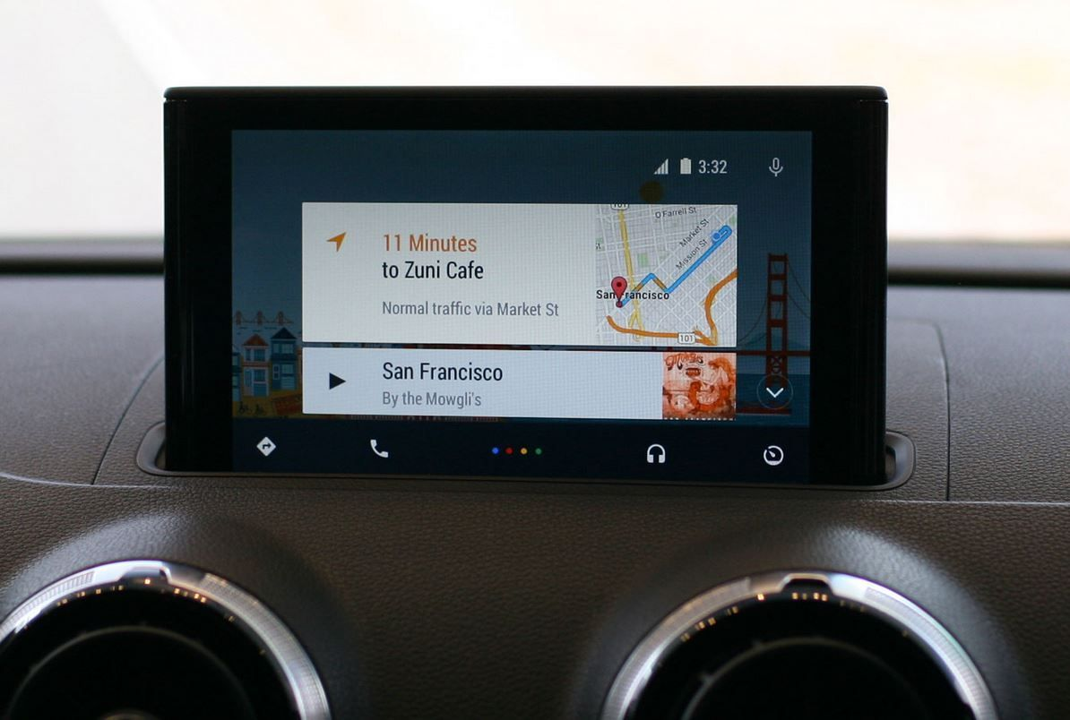 Android Auto tablet