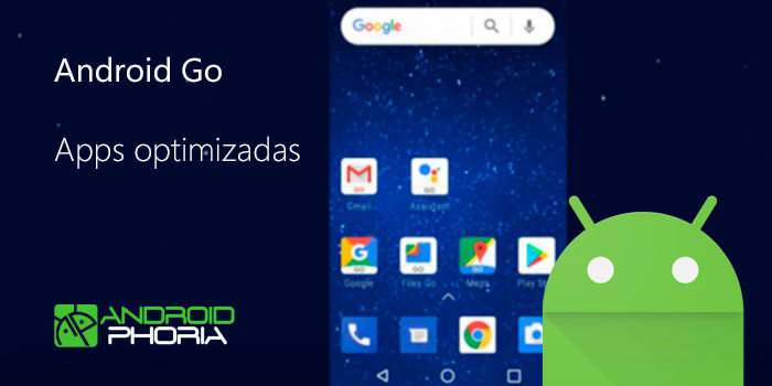 Android Go aplicaciones optimizadas