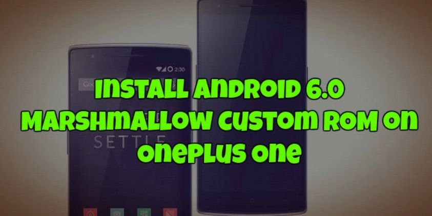 Android Marshmallow OnePlus One