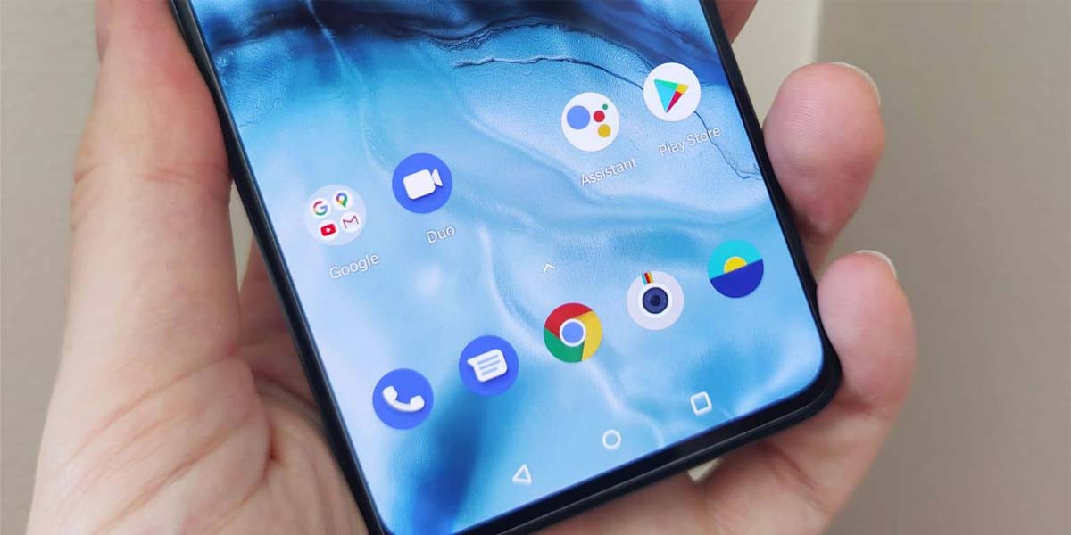 Android en el OnePlus Nord