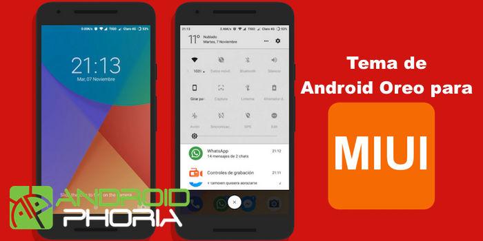 Android Oreo tema MIUI