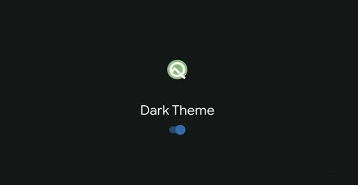 Android Q Modo oscuro