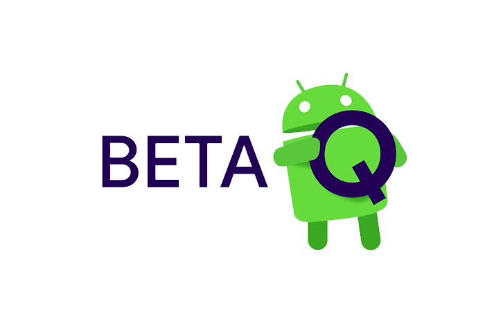 Android Q beta modo oscuro