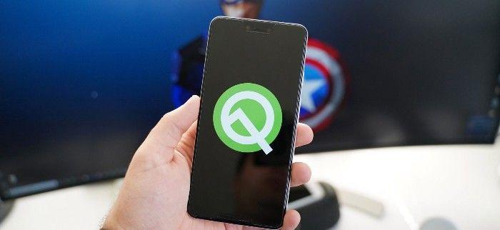 Android Q beta movil google pixel