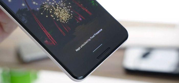 Android Q pantalla de desbloqueo