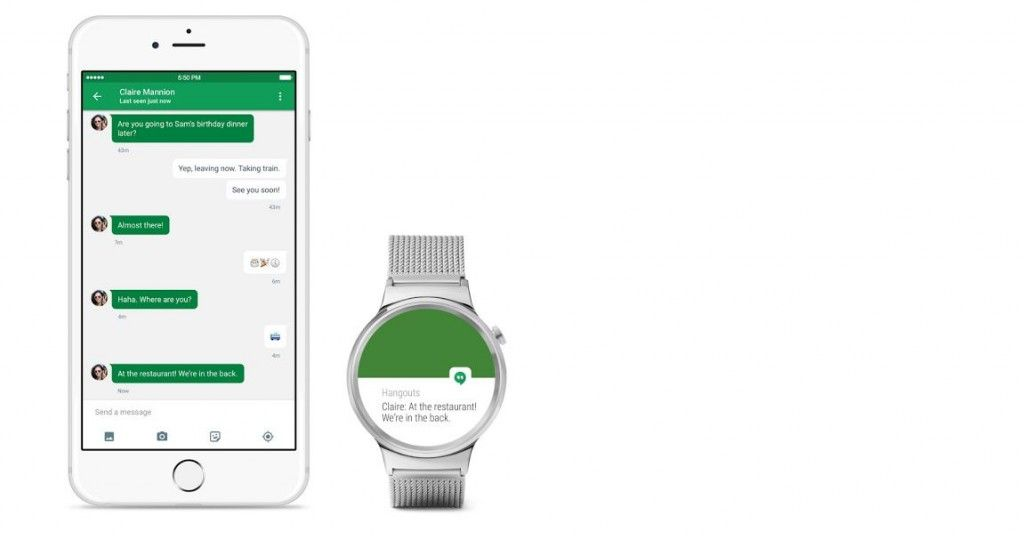 Android Wear compatible con iPhone oficial
