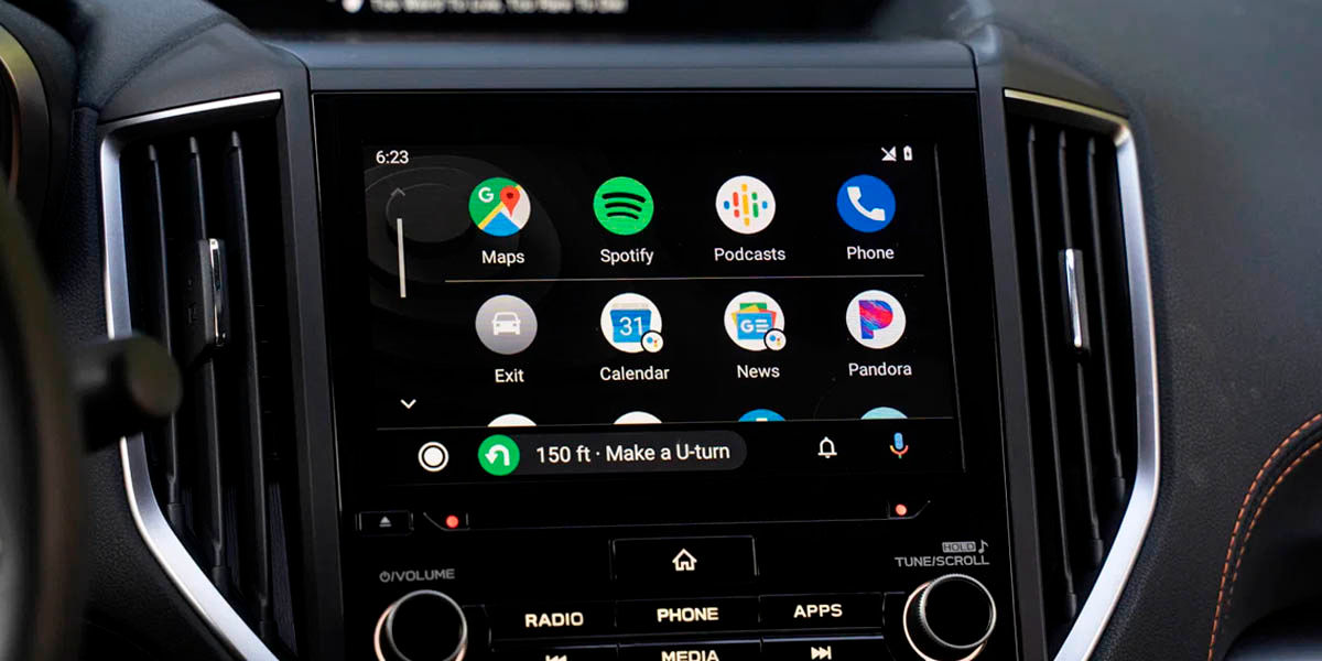 Android auto es compatible con muchas aplicaciones