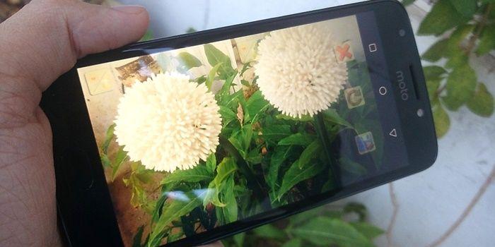 Android cámara dividida