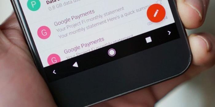 Android one barra de navegacion
