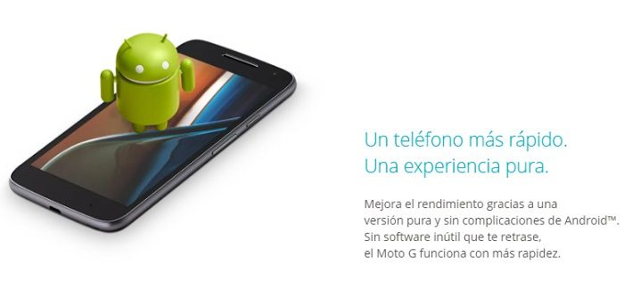 Android puro Moto G