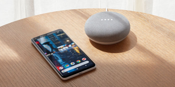 Android telefono Google Home