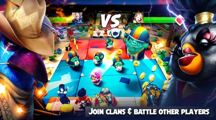 Angry Birds Evolution clan